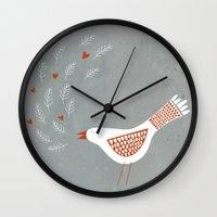 la Wall Clocks featuring La la la by Nic Squirrell
