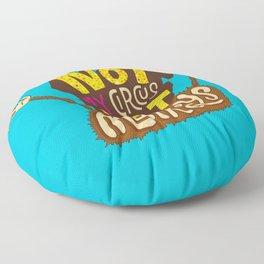 Not My Circus, Not My Monkeys Floor Pillow