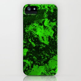 Galaxy in Green iPhone Case
