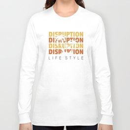 Disruption Lifestyle Long Sleeve T-shirt