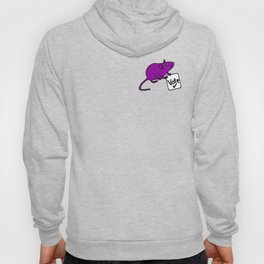 Purple Rat says Vote Hoody