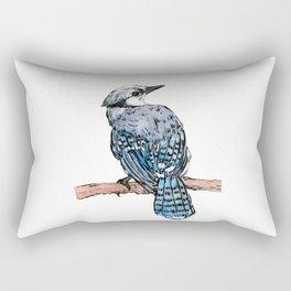 Watercolor Bird Rectangular Pillow