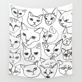 Cats! Wall Tapestry