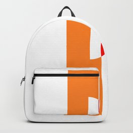 Bauhaus with geometric shapes Backpack