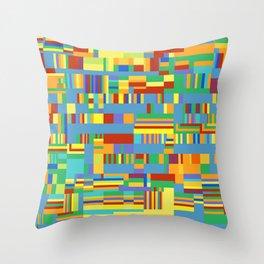 Chromatetude (Candy Colours) Throw Pillow