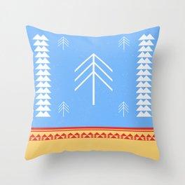 DREAM CATCHERS // Winter Throw Pillow