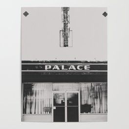 Palace Theater - Marfa, Texas Poster