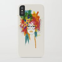 dreamer iPhone & iPod Cases featuring Dreamer by PositIva