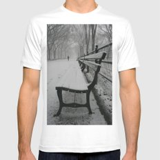 Have A Seat Mens Fitted Tee White MEDIUM