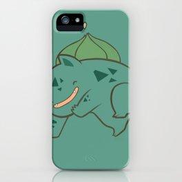 Pokemon: Bulbasaur! iPhone Case