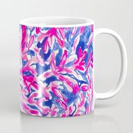Pink Corals into Ocean Coffee Mug