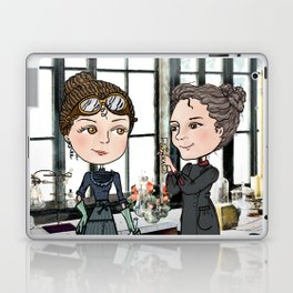 Woman in Science: The Curies Laptop & iPad Skin