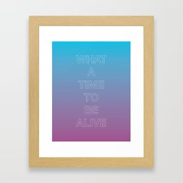 WATTBA Framed Art Print