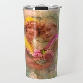 Vintage childhood of the last century Travel Mug