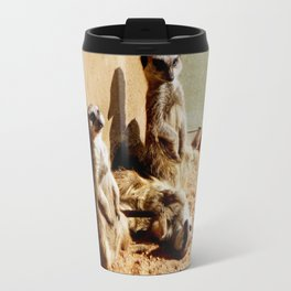 Meerkat Togetherness Travel Mug