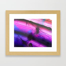 Paint I Framed Art Print