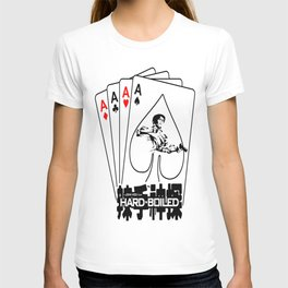 Hard Boiled Chow-Yun Fat John Woo Aces of Shots T-shirt