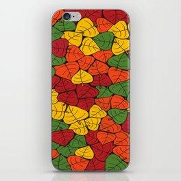 Autumn Leaves iPhone Skin