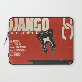 Django Unchained, Quentin Tarantino, alternative movie poster, Leonardo DiCaprio, Jamie Foxx Laptop Sleeve