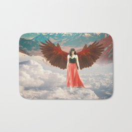 Lady of the Clouds Bath Mat