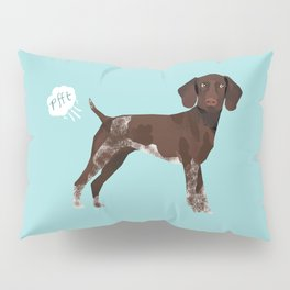 german shorthair pointer funny farting dog breed gifts Pillow Sham