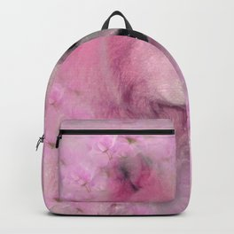 PINK WOLF FLOWER SPARKLE Backpack