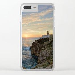 Cabo de Sao Vicente, Algarve Clear iPhone Case