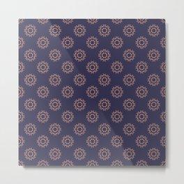 Floral Vintage pattern Metal Print