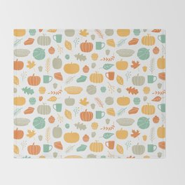 Fall Favorites Throw Blanket