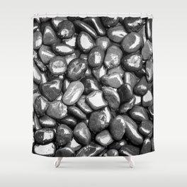 Glistening Gravel Shower Curtain