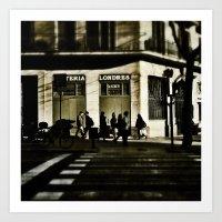 Londres Art Print
