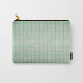 Pale Sea Plaid Carry-All Pouch