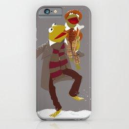Kermit Christmas Carol iPhone Case