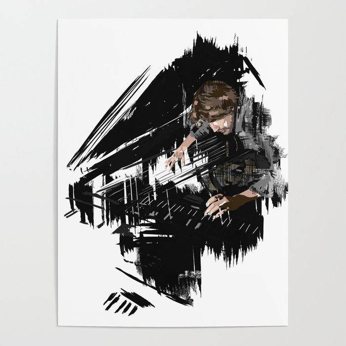 Piano player Poster