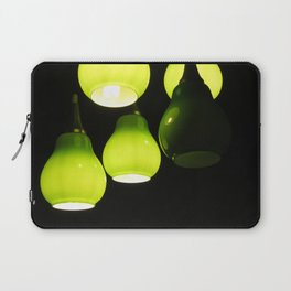 Green Lamps Laptop Sleeve