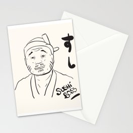 Sushi Boss Stationery Cards