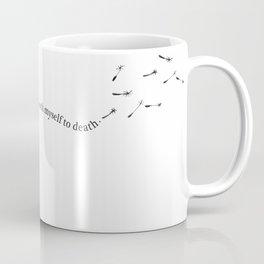 Coneflower Girl Coffee Mug