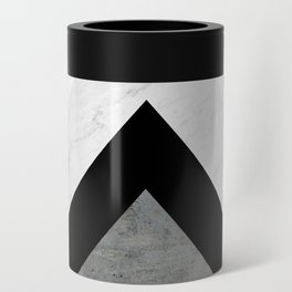 Arrows Monochrome Collage Can Cooler