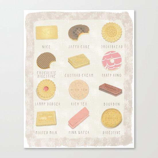 BISCUITS  Canvas Print