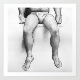 Legs Art Print