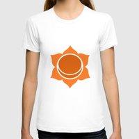 chakra T-shirts featuring Sacral Chakra by cosmicsenpai