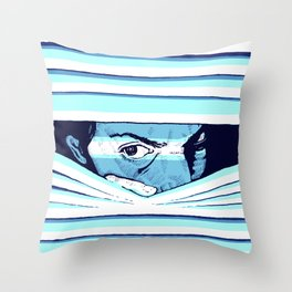 Paranoia by Aaron Bir Throw Pillow