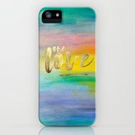 One Love, Ocean Sunrise 2 iPhone Case