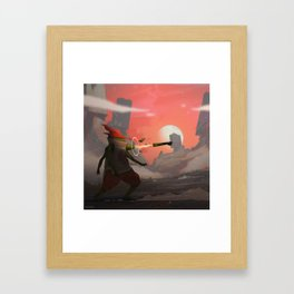 Jacobo the Limb Wizard Framed Art Print