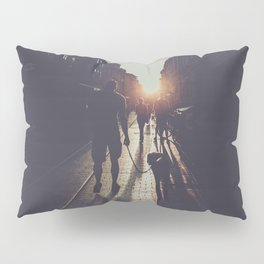 City light photography #city #photo Pillow Sham