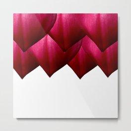 Heart Petals Metal Print