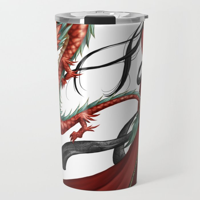 Chinese dragon pure Travel Mug