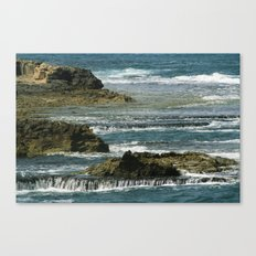 the big blue Canvas Print