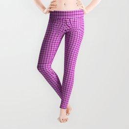 Pink and Purple Tartan Leggings