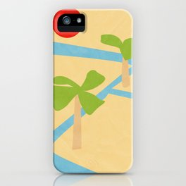 Irrigation and palms (Egyptian series) iPhone Case